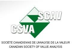 Conference at the CSVA – Canadian Society of Value Analysis