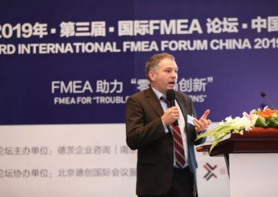 Bassetti China with Knowllence to 3rd FMEA Forum China 2019
