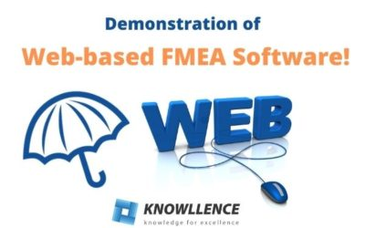 Discover the web version of FMEA software!